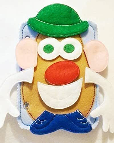 Mr Potato head quiet book page #5