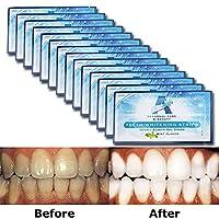EZGO Teeth Whitening Strips - 28 Count 14 Days Course, Bonus Shade Guide Advanced...