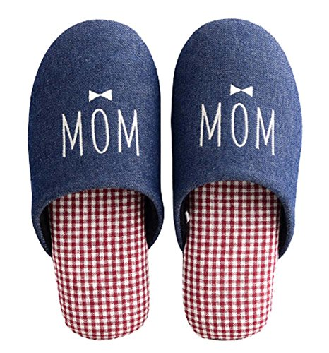 Women's Anti Washable Red On Shoes Slip Slip Home Comfortable Slipper House rHZxrqw