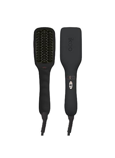 ikoo E-Styler - Cepillo eléctrico alisador de pelo, tecnología iónica y revestimiento cerámico. Cabello sedoso, brillante y con estilo. Apagado ...