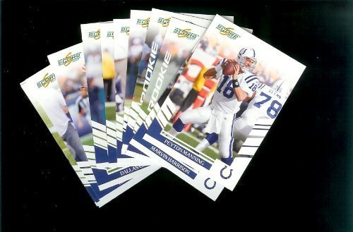 Indianapolis Colts Football Cards - 3 Years of Score Complete Team Sets 2006,2007, 2008 - Includes Stars like Peyton Manning, Rookies & More - Individually Packaged!