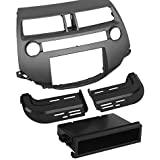 Scosche Dash Kit for 2008 Honda Accord Non-Navigation Din with Pocket and Double Din (Dark Grey) (Discontinued by Manufacturer)