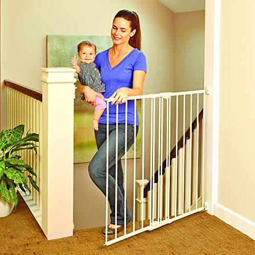 202bc428b 10 Best Baby Gate for Stairs Reviews - Safety First  2019  Updated