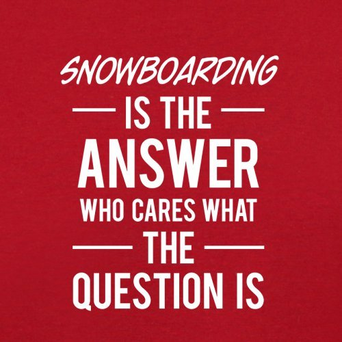 Flight Snowboarding Red The Answer Is Retro Bag oqITp4qLM