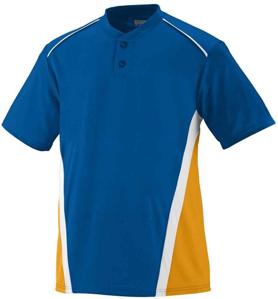 Augusta Sportswear Boys ' RBI野球ジャージー B00E1YUJZC Small ロイヤル/ゴールド/ホワイト ロイヤル/ゴールド/ホワイト Small
