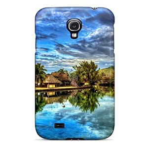 Perfect Resort Lake Case Cover Skin For Galaxy S4 Phone Case