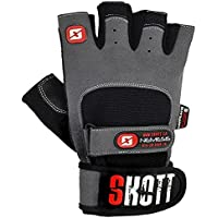 Nemesis Evo Weight Lifting Gloves with Integrated Wrist...