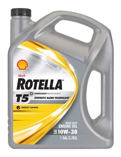 Shell Rotella 550019908 3pk T5 10w 30 Synthetic Blend
