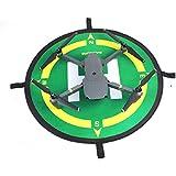Hobby Signal Foldable Landing Pad Waterproof Parking Apron Helipad Landing Field D50cm with Compass Directions for DJI SPARK/MAVIC PRO/ Phantom 3/4