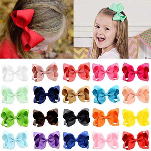 - 20pcs Hair Bows for Girls 4