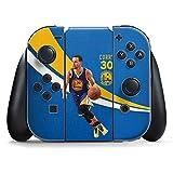 Golden State Warriors Nintendo Switch Joy Con Controller Skin - Warriors Curry #30 | NBA & Skinit Skin