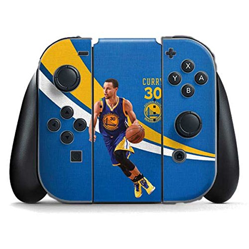 Golden State Warriors Nintendo Switch Joy Con Controller Skin - Warriors Curry #30 | NBA & Skinit Skin by Skinit