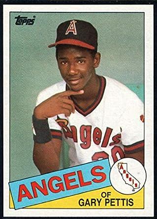 Amazoncom 1985 Topps Baseball 497 Gary Pettis California Angels