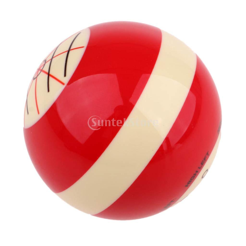 Toygogo Professionelle 2 1//16 Zoll Praxis Queue Ball Snooker Standard Trainingsball Billard Zubeh/ör 52mm