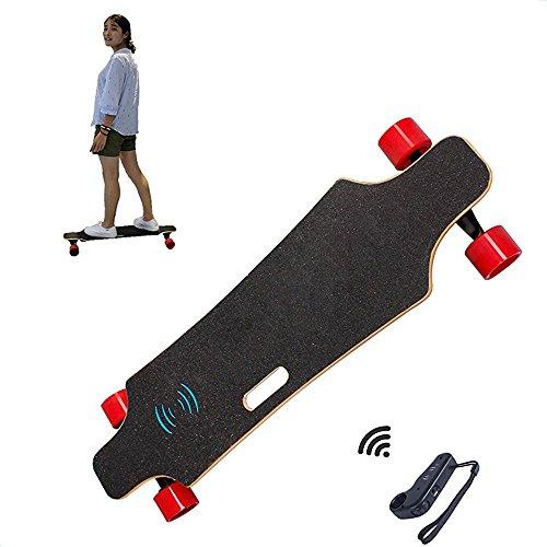 Tlcommande-4-roues-Skateboard-lectrique-Augmente-Longboard-Skateboard-LG-Batterie-2000-W-red