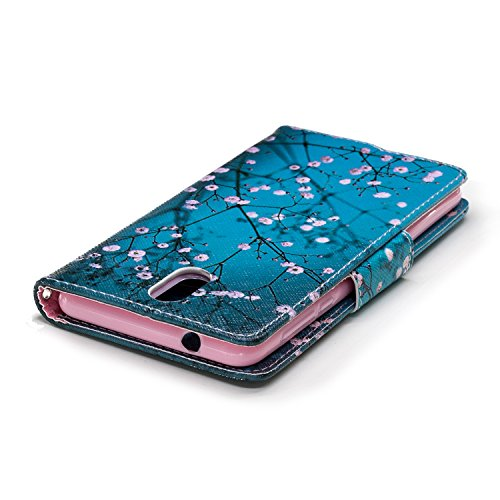 PU Nokia Dragonne Fonction Case 2018 BONROY 3 pour prune Portefeuille Wallet avec Coque 1 Étui Cuir Flip Nokia coloré 2018 Arbre Cartes Housse Support 1 Cover 3 Porte PP1xw6XcqH