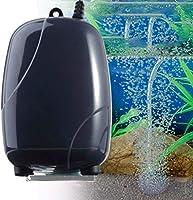 Babysbreath17 Bomba de Aire del Acuario Silencio ox/ígeno Bomba de Aire del Tanque de Pescados Oxigenador Compresor de Aire aireador de Agua Accesorios EU Plug 220V