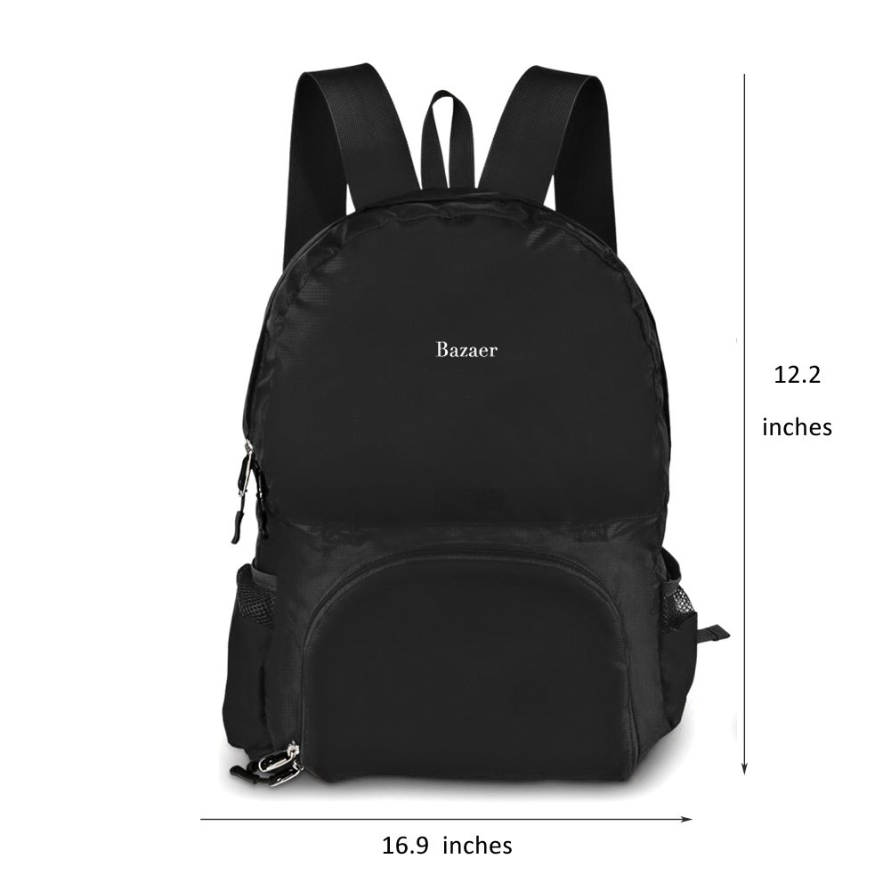 Nychaa Lightweight Packable Backpack Durable Hiking Daypack Camping Outdoor Water Resistant Bag