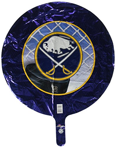 Anagram International Buffalo Sabres Foil Flat Party Balloons, 18
