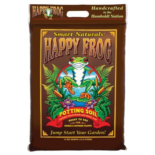 Fox Farm FX14054 Happy Frog Potting Soil, 12 Quart
