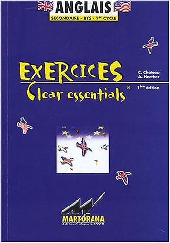 Livres Anglais : Exercices Clear essentials pdf, epub