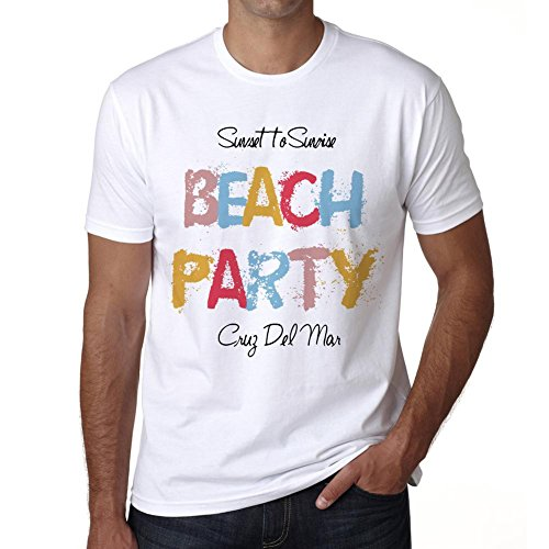 Cruz Del Mar, Beach Party, tshirt men, beach tshirts, gift tshirt (Party City Las Cruces)