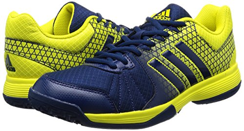 4 Homme Mystre Jaune Vif Pour Volleyball De Ligra Chaussures bleu Bleu Adidas R7Sw5Tqq