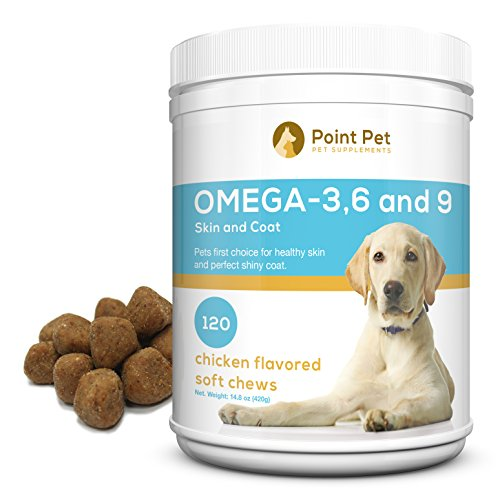 Best Omega 3 6 9 Fish Oil for Dogs - Supports Healthy (Linatone Food Supplement)