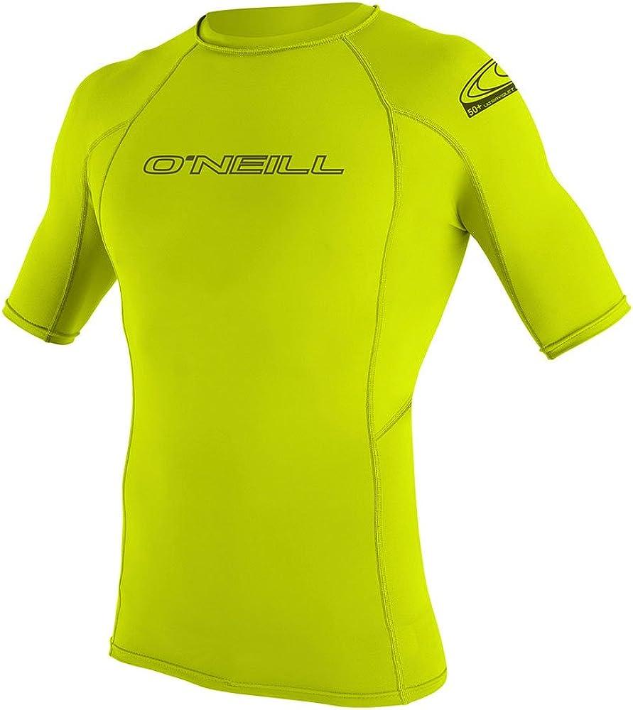 Camiseta de poliester para hombre con proteccin UV O Neill Wetsuits Basic Skins S//S Crew