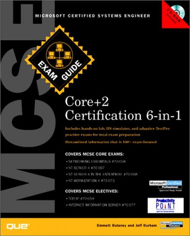 MCSE Core Certification Exam Guide 6-in-1 (Exam Guides) ebook