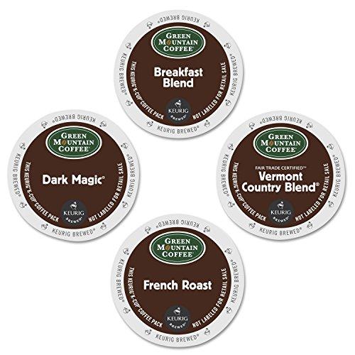 Green Mountain Coffee Roasters 6501CT Regular Variety Pack Coffee K-Cups, 88/carton