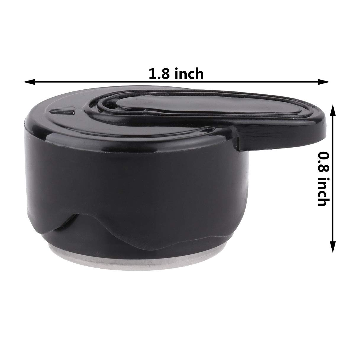 CHICTRY Steam Release Valve Programmable Pressure Cooker Valve for Instant Pot Duo Mini 3 Qt Duo Plus Mini 3 Qt DUO60 6 Qt and DUO80 8 Qt Black Type G by CHICTRY (Image #7)