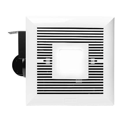 Awe Inspiring Monarchy Mh B01 Bathroom Ceiling Fan 120 Cfm Bathroom Ventilation Exhaust Fan With Led Light Modern Slim Design Double Hanger Bar Easy Download Free Architecture Designs Scobabritishbridgeorg