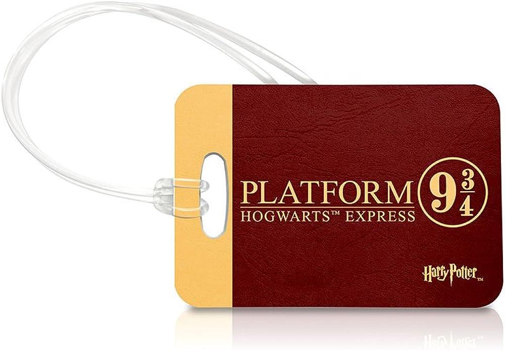 Amazon com Harry Potter Platform 9 ¾ Luggage Tag Bag Charm