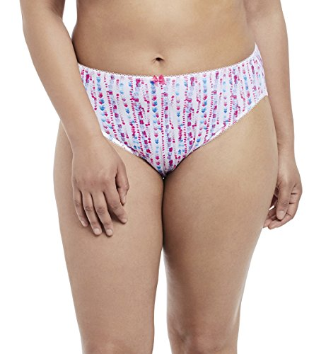 Elomi Women's Plus Size Kim Brief, Pizzaz, L