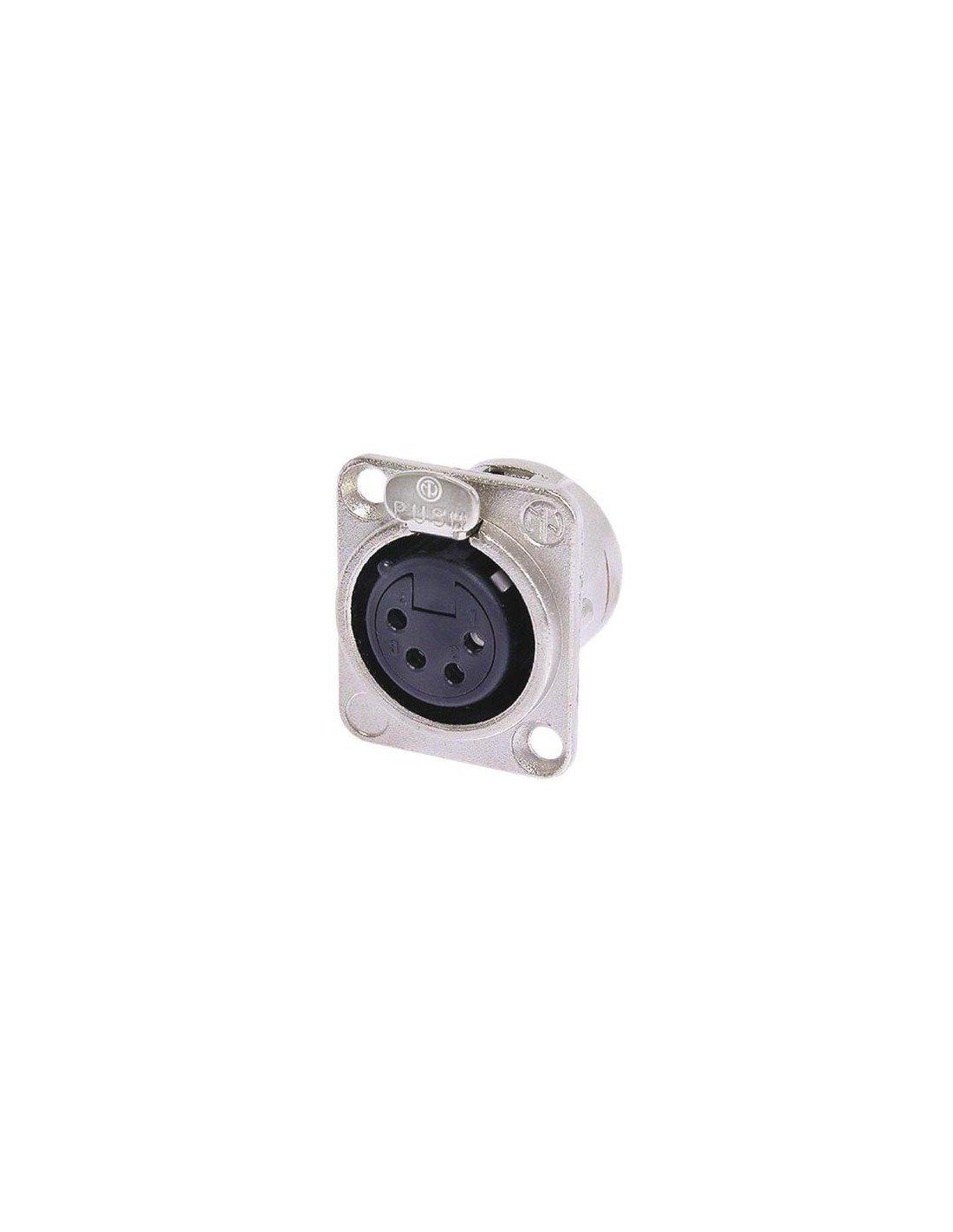 Neutrik 145105 Xlr Chassis Socket 4-Pin