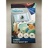 Moana Full Comforter Sheet Set