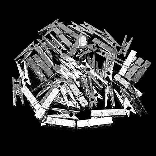 Yueton Plastic Clothespins Clothesline Utility
