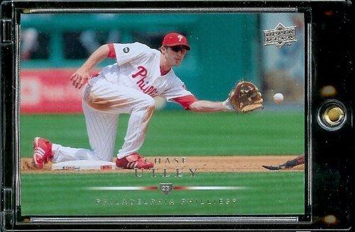 - 2008 Upper Deck # 197 Chase Utley - Phillies - MLB Baseball Trading Card