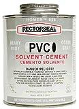 Rectorseal 55963 Quart 828L Heavy Body Grey Low Voc Pvc Solvent Cement