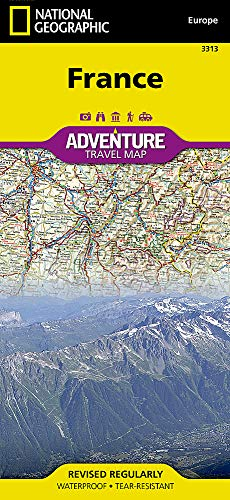 France (National Geographic Adventure Map)...