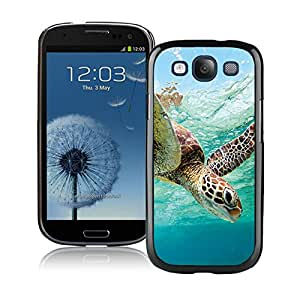 Beautiful Designed Cover Case For Samsung Galaxy S3 I9300 With Ocean Sea Turtle Black Phone Case