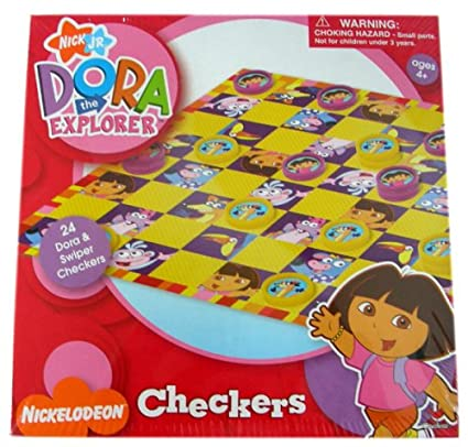 Dora Checkers by Cardinals