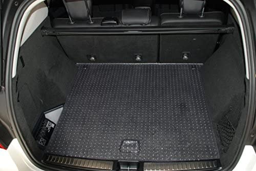 Puremats Mercedes Benz Gl450 Gls550 Cargo Mat All Weather Heavy Duty Crystal Clear 2013 2019
