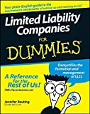 img - for Limited Liability Companies For Dummies by Jennifer Reuting (2007-11-28) book / textbook / text book