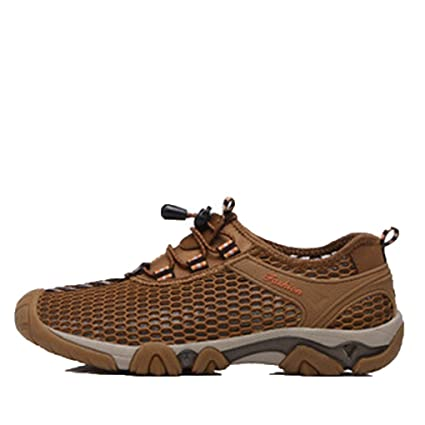 8608c386bc9c Image Unavailable. Image not available for. Color  Yaloee Men Sandals  Breathable Hiking Aqua Shoes Ultra-Light