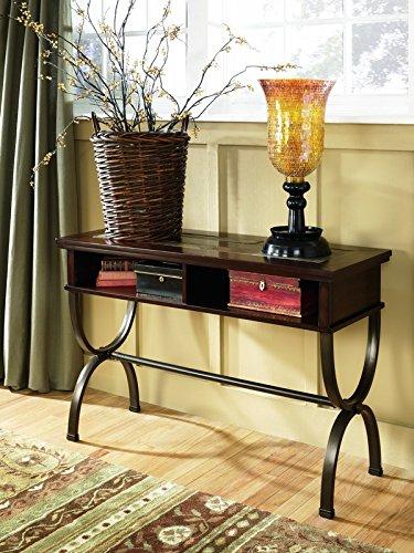 Ashley Furniture Signature Design - Zander Console Sofa Tabl