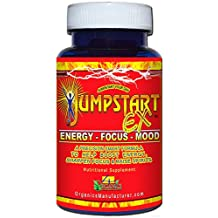 More buying choices for Jumpstart EX Energy, Focus & Mood Enhancer Supplement Bottle (60 Capsules) by 4 Organics - Natural Energy Boost Pill - Long Lasting - No Jitters - Satisfaction Guaranteed - B Vitamins - ALCAR - L-theanine - L-tyrosine - Ginseng - Nootropic - Mood Boost