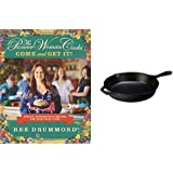 """The Pioneer Woman Cooks: Come and Get It! & Lodge 10.25"""" Cast Iron Skillet Bundle"""