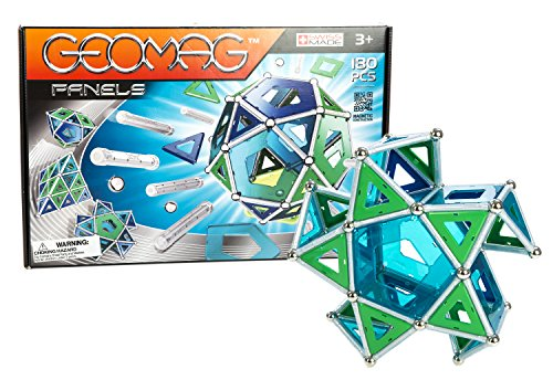 Geomag 180-Piece Construction Set with Assorted Panels - ...